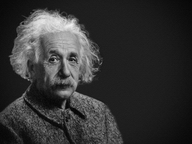 A portrait picture of Albert Einstein