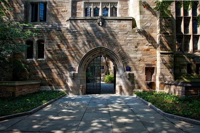 entrance to a chemistry university